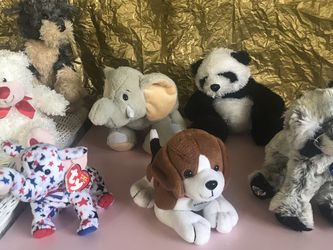 Teddy Bears 🐻 Total 7, All In Very Good Condition for Sale in Stockton,  CA