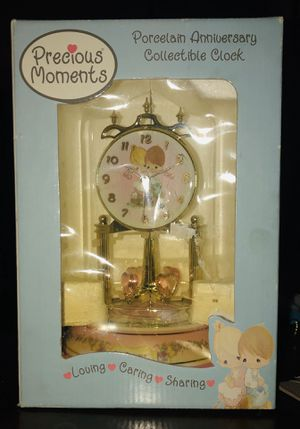 Precious moments anniversary clock for Sale in Glendale, AZ