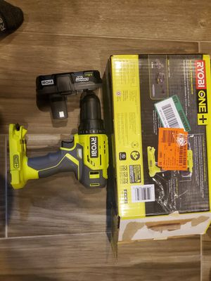 Ryobi Drill and Battery for Sale in Houston, TX
