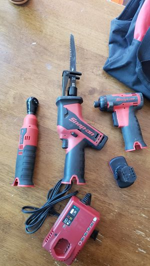 Snap On tool lot. 1/4 ratchet, hack saw and driver. Driver needs trigger repair. for Sale in San Lorenzo, CA