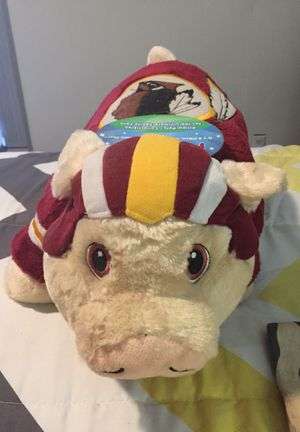 Washington Redskin pillow pet for Sale in Crewe, VA
