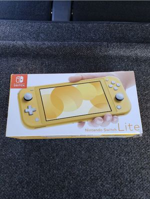 Brand New Nintendo Switch Lite Yellow for Sale in San Diego, CA