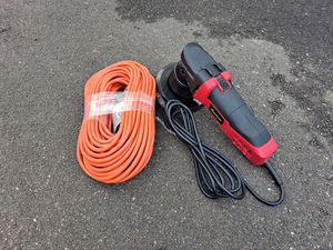 Buffer Polisher + Extension cord +Knee pad for Sale in Bridgeport, CT