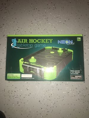 Air hockey table top game for Sale in Phoenix, AZ