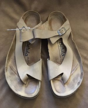 Birkenstock's Betula Suede Buckle sandals for Sale in Fort Worth, TX