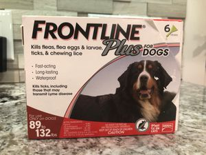 FRONTLINE Plus FOR DOGS 89-132lbs for Sale in Livermore, CA