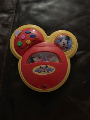 Mickey Mouse children's portable CD player for Sale in Dearborn, MI