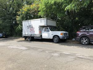 Ford F-350 1989 Diesel Box Truck for Sale in The Bronx, NY
