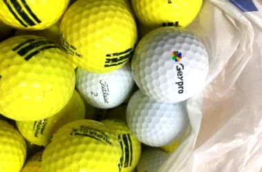24 golf balls previously used for Sale in Raleigh,  NC