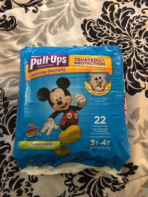 Pull ups huggies for Sale in MIDDLEBRG HTS, OH