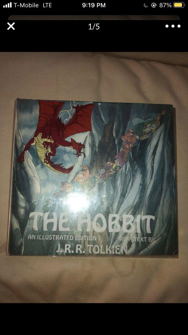 Hobit book Illustrated version