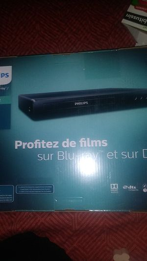 Brand new phillips blu ray dvd player for Sale in Fresno, CA