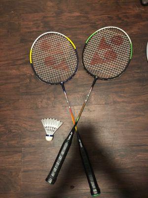 Tennis ( Badminton) Rackets for Sale in Montebello, CA