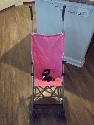 Like new pink umbrella stroller for Sale in San Antonio, TX