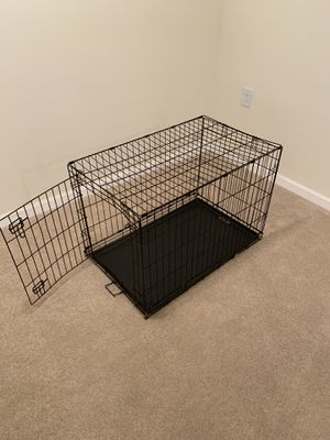 "Wire Dog Crate Folding L: 36"" W: 22"" H: 24"" for Sale in Manassas, VA"