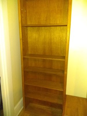 Wooden Bookcase for Sale in Seattle, WA