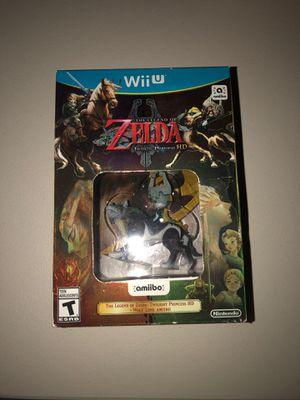 The legend of Zelda twilight princess HD new Nintendo Wii U for Sale in Chicago, IL
