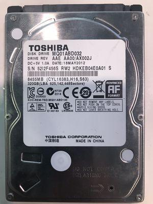 Toshiba 320GB Hard Drive Laptop/PS4 for Sale in Boynton Beach, FL
