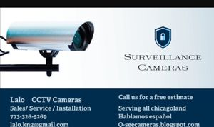 Sale and installation of cameras of security. we sold the equipment , 4, 6, 8 cameras for Sale in Chicago, IL