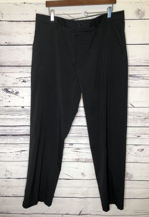 Greg Norman Men's Pants Golf Stretch Activewear Wrinkle Resist Black Size 38x32 for Sale in Pasco, WA