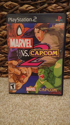 PS2 - Marvel vs CAPCOM 2 for Sale in Redmond, WA