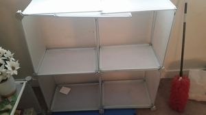 White plastic Shelves for bookcase etc for Sale in Falls Church, VA