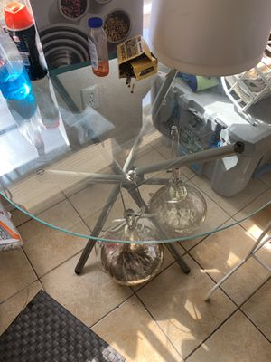 Small kitchen table. Seats 3 people. Chairs included. for Sale in Port Richey, FL