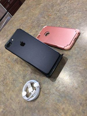 Matte black iPhone 7 plus 128gb unlocked 420obo for Sale in Laveen Village, AZ