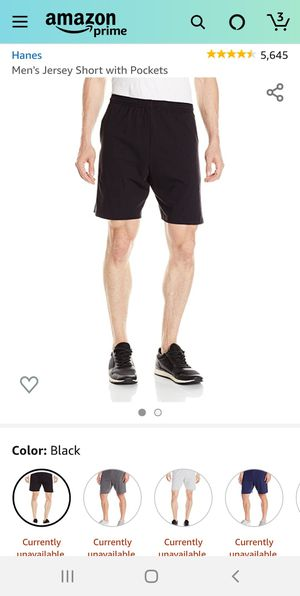 New mens jersey shorts with pockets xlarge for Sale in Beaverton, OR