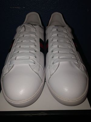 Men's and women's white Gucci shoes (read listing) for Sale in Fresno, CA