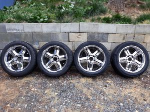 Rims and tires 275/45r20 for Sale in Suitland, MD