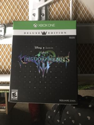 Kingdom Hearts 3 Deluxe Edition Xbox One for Sale in Las Vegas, NV