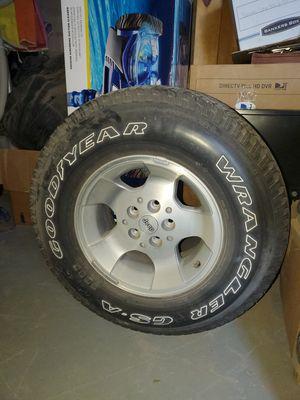 Jeep Wrangler Stock Tires & Wheels for Sale in El Paso, TX