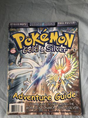 Pokémon Gold & Silver Guide 1998 for Sale in Alexandria, VA