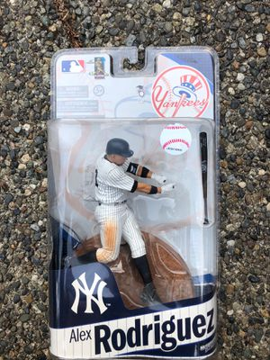 Alex Rodriguez McFarlane's Collectible Action Figure for Sale in Bellevue, WA