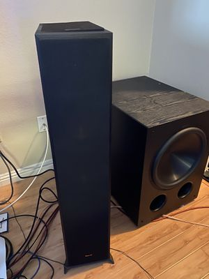 Klipsch R-625FA Dolby Atmos Floor Standing Speakers for Sale in San Jose, CA