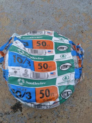 10/3 outdoor wire 50ft. for Sale in Tampa, FL
