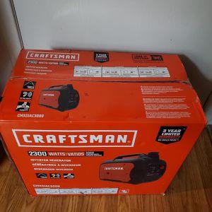 BRAND NEW, BRAND NEW Craftsman CMXGIAC3000 Gas Inverter Generator 2300 Running Watts. NUEVO for Sale in Baldwin Park, CA