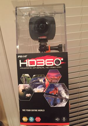 Go pro style camera HD 360 by pilot for Sale in Las Vegas, NV