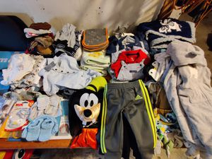 Baby boy Clothes lot 0-9 months for Sale in Compton, CA