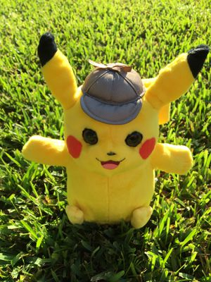 PIKACHU toy 🧸 Uses AAA batteries 🔋 Says movie lines. for Sale in Tamarac, FL