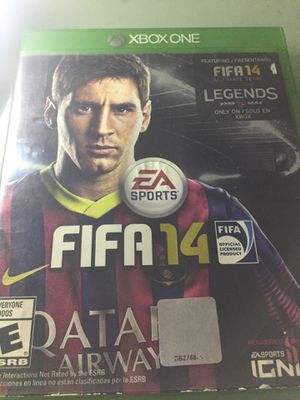FIFA 14 for Xbox one for Sale in Tustin, CA
