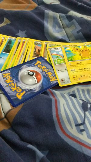 Pokemon Cards *PERFECT* Not Even A Bent Part On The Cards for Sale in Hellertown, PA