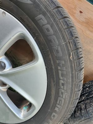 16inches rims with tires for a kia for Sale in Fort Worth, TX