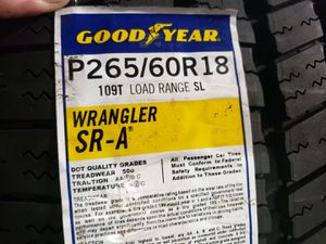 265/60/R18 Tire for Sale in Irving, TX