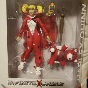 HARLEY QUINN | ACTION FIGURE | NEVER OPENED | MINT CONDITION | DC COMICS | FIGURINE | BATMAN for Sale in Lake Forest Park, WA