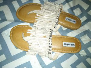 New sandals Fringe for Sale in Willis, TX
