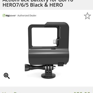 REFUEL GoPro Battery Pack Case HERO 7 6 5 Black for Sale in Bedford, TX