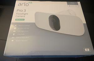 Arlo pro 3 floodlight camera for Sale in Atlanta, GA