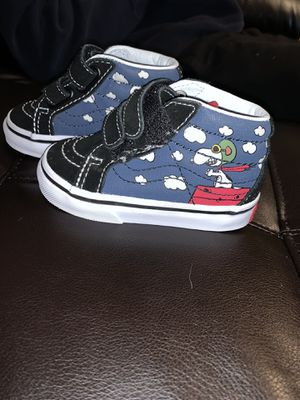 Infant Size 4c Peanuts Snoopy Vans-2 for $30 or 1 for $20 for Sale in Charlotte, NC